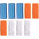 Adouiry Washable Mopping Pads for IRobot Braava Jet 240 241 Sweeping Pads, Reusable Wet Damp Dry (9 PCS)