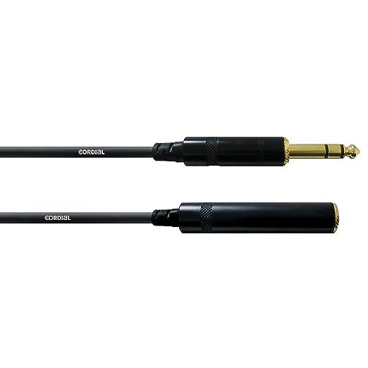 5 opinioni per Cordial CFM 7,5 VK- Cavo audio bilanciato, da jack stereo dorato da 6,3 mm a