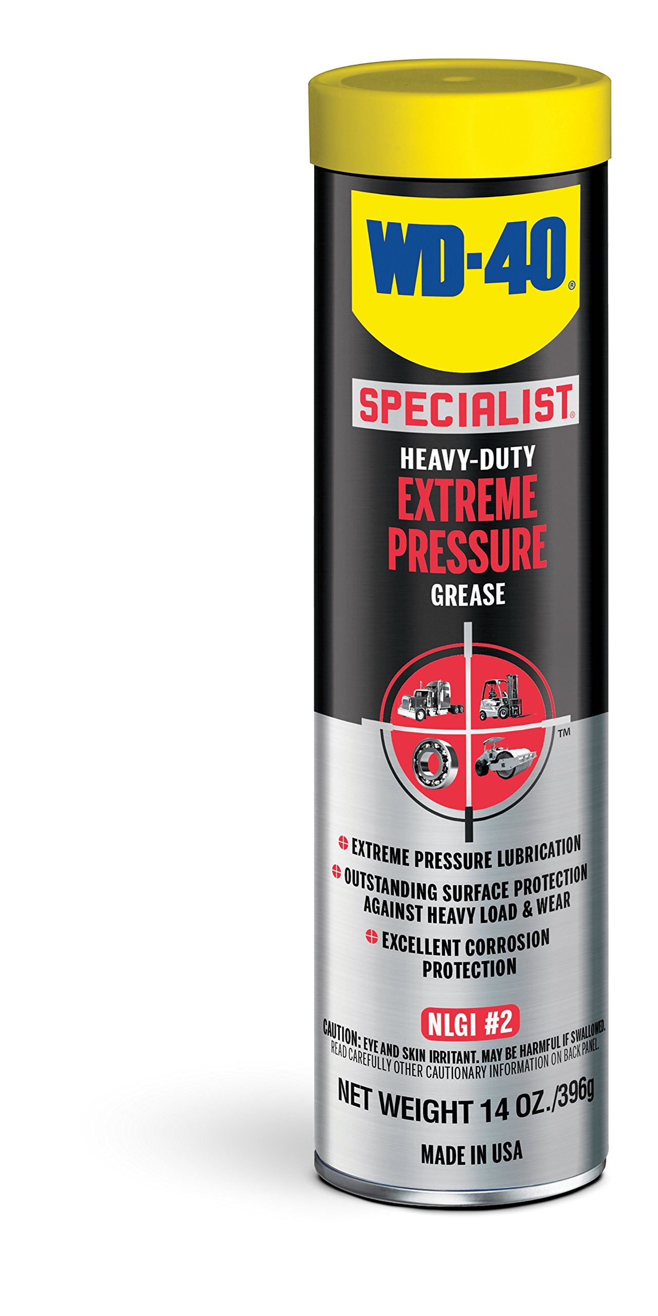 WD-40 Specialist Heavy-Duty Extreme Pressure Grease, 14 OZ [10-Pack]