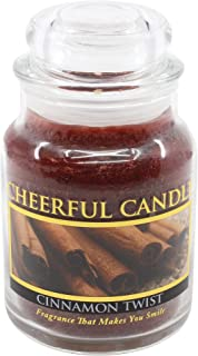 product image for A Cheerful Giver 6oz Cinnamon Twist Cheerful Jar Candle, 6 oz, Red