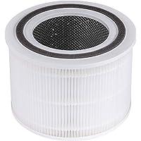 LEVOIT Luchtfilter vervangingsfilter voor luchtreiniger Core 200S, H13 HEPA-filter, zeer efficiënt koolfilter en…
