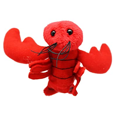 Sea Life Plush Finger Puppet: Lobster - By Ganz: Office Products