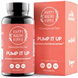 Pump It Up Lactation Supplement – Powerful Gentle All-Natural Herbal Breastfeeding Postnatal Vitamins Support Easier, Faster