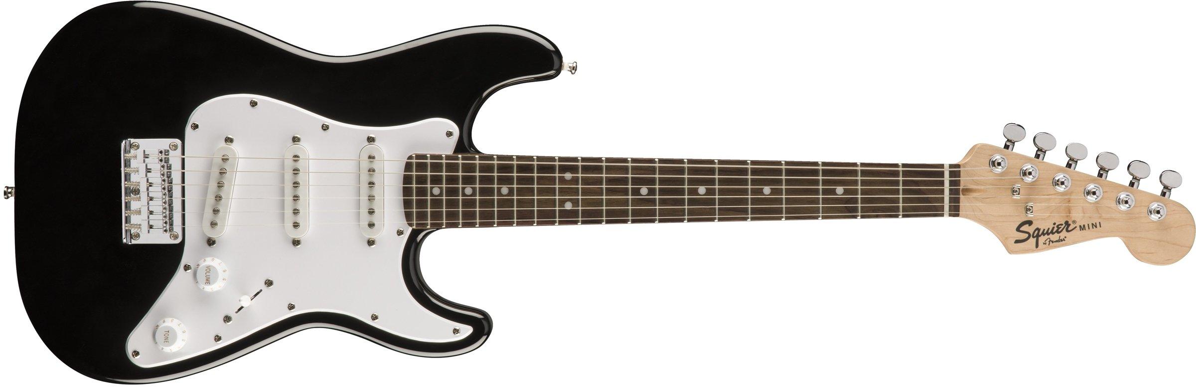 Squier by Fender Mini Strat  - Rosewood Fingerboard  - Black by Fender (Image #1)