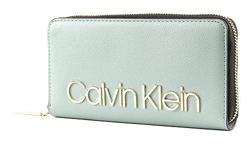 Calvin Klein - Ck Must Lrg Ziparound, Carteras Mujer, Gris ...