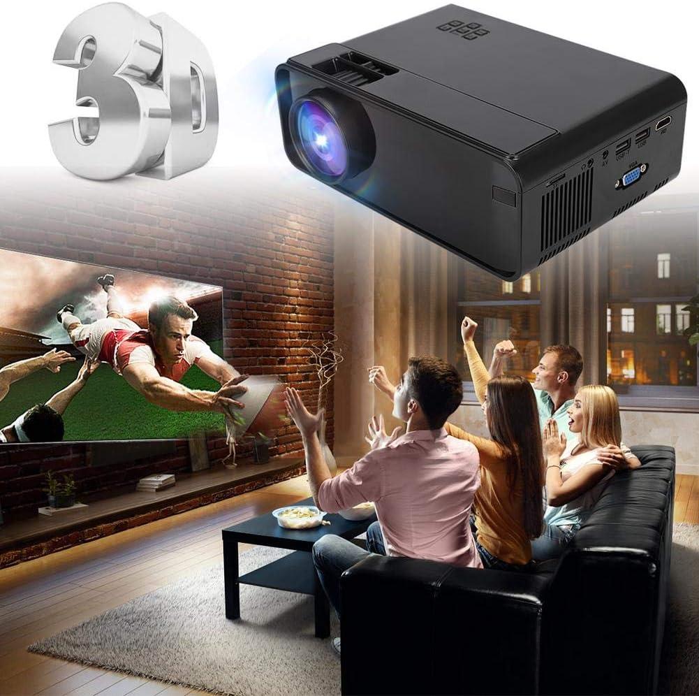 Proyector LED WiFi, proyector portátil de Cine en casa Bluetooth ...