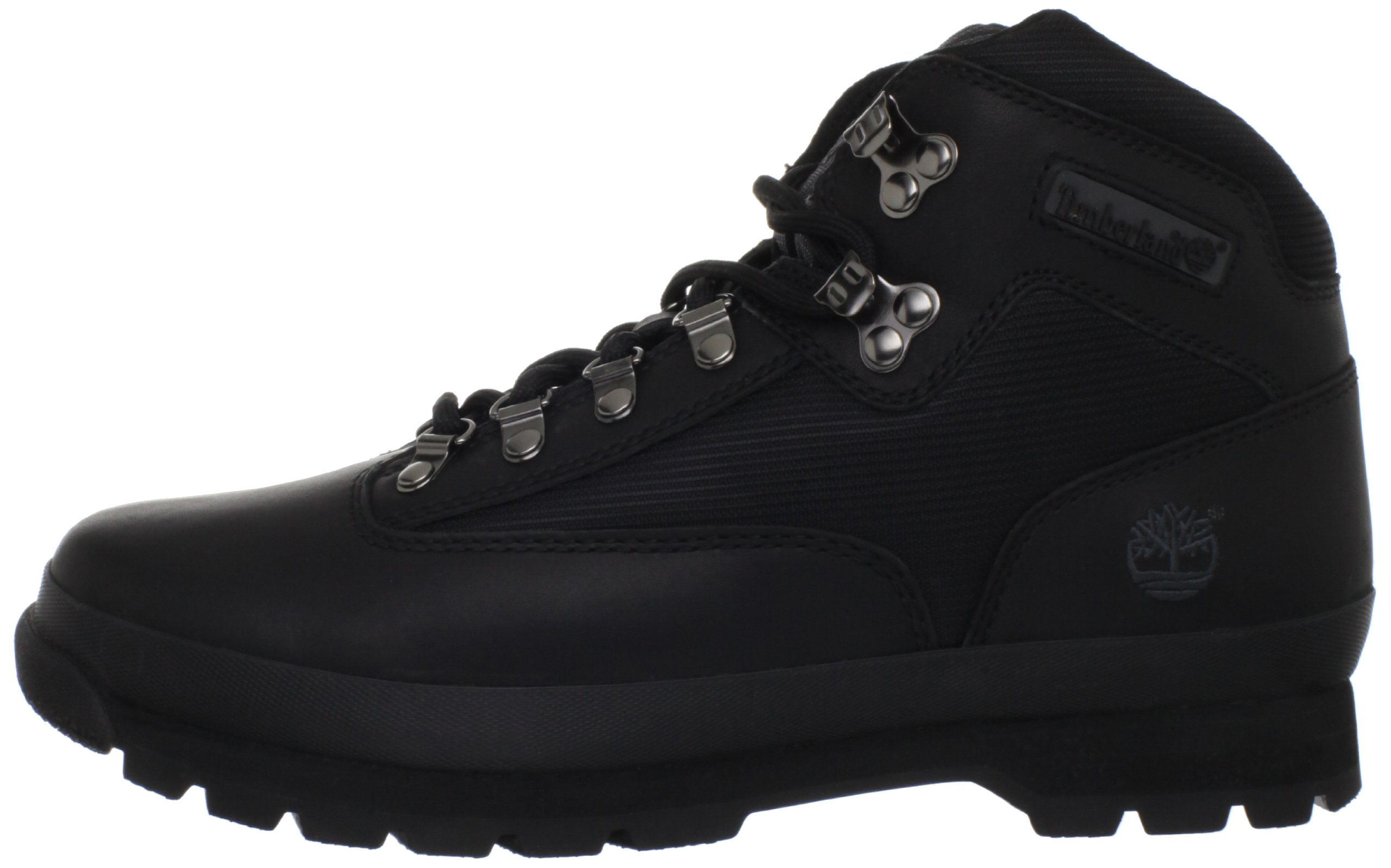 Timberland Men's Euro Boot,Black Smooth,10.5 M US by Timberland (Image #5)