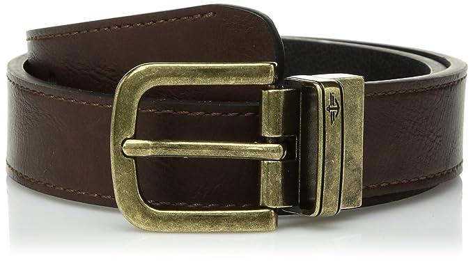 Dockers - Cinturón de latón para niños (reversible)  Amazon.com.mx ... e6d6f1dcbd5a