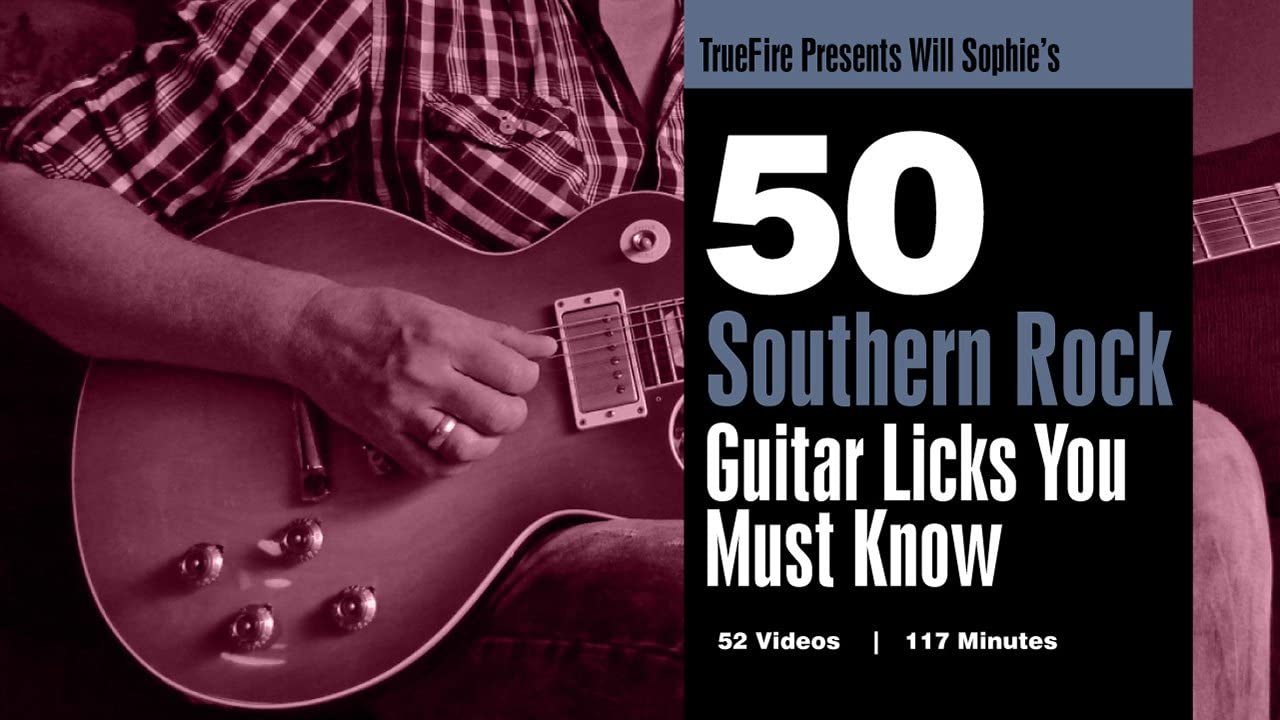 50 Southern Rock Licks You MUST Know