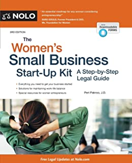Image result for The Women's Small Business Start-Up Kit : A Step-by-Step Legal Guide, 4th Edition