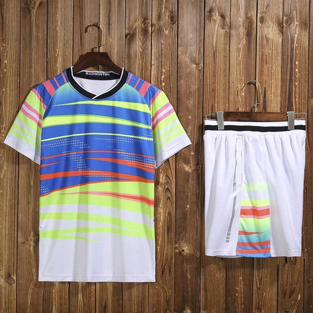 Kurzarm Tischtennis Kleidung Anzüge für Männer und Frauen Sport Large Size Tennis Kleidung Badminton Kleidung Team Uniform/Schwarz und Weiß M-4XL White