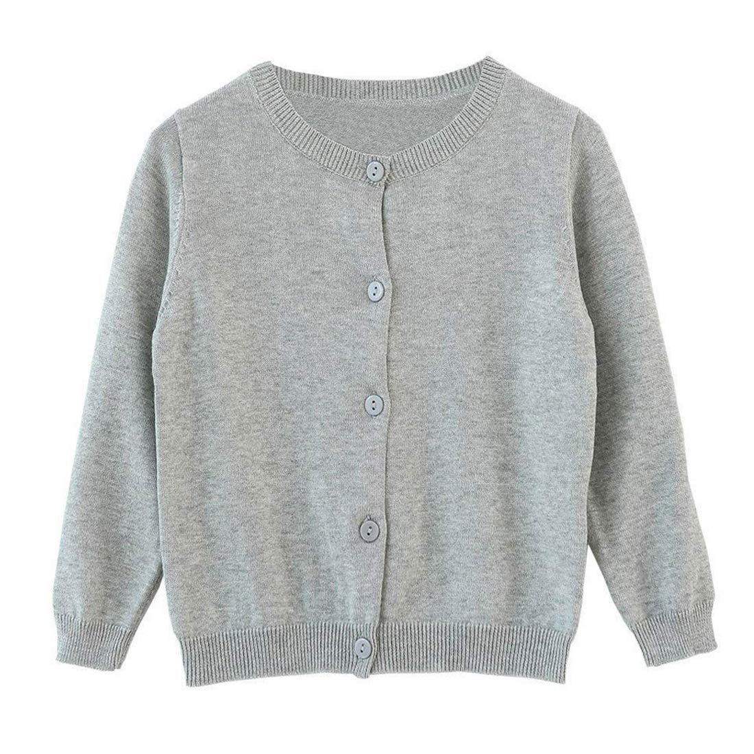 4bcbca16a196 Amazon.com  Dutebare Baby Girls Long Sleeve Cardigans Toddler ...