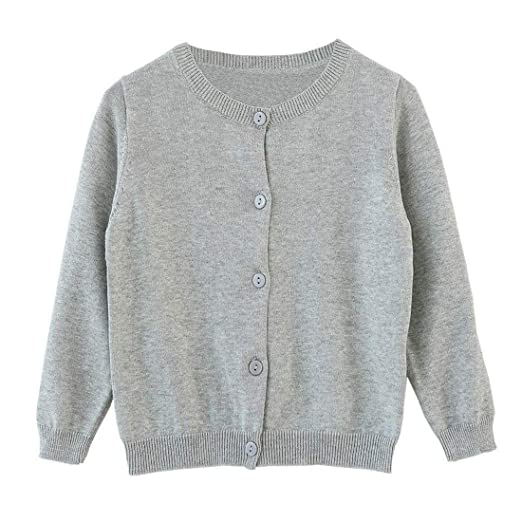 9759bb04c Amazon.com  Dutebare Baby Girls Long Sleeve Cardigans Toddler ...