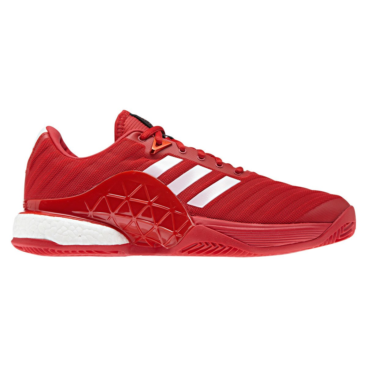 adidas Barricade Boost Rojo Clay DB1747: Amazon.es: Deportes ...