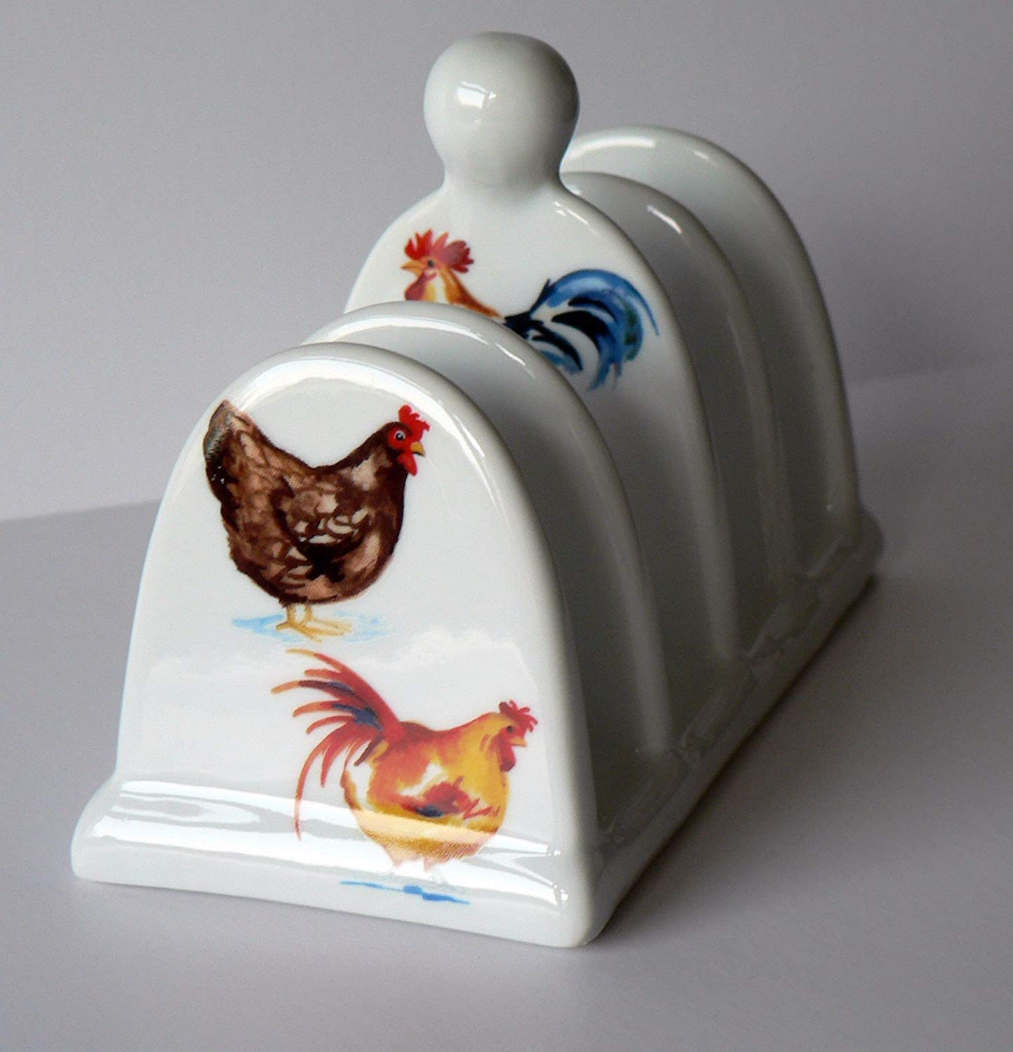 Chicken toast Rack toast ceramic toast rack holder crackinchina