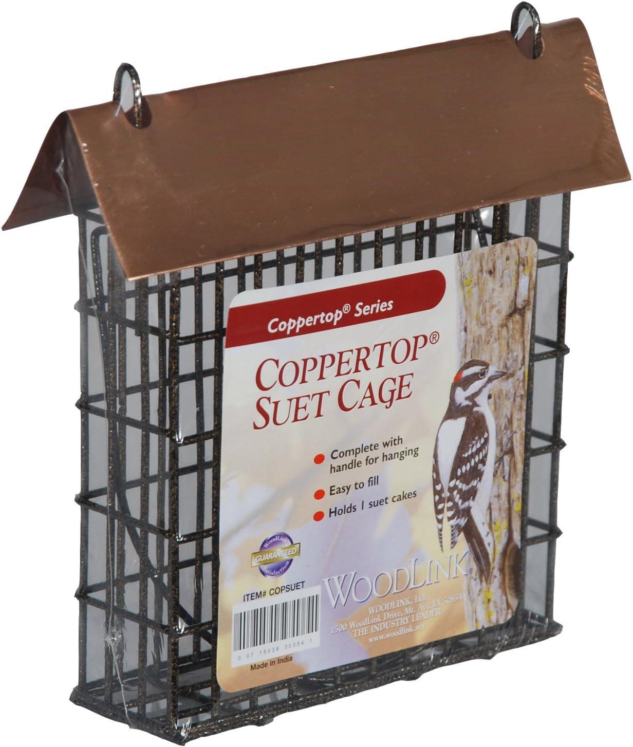 Woodlink Coppertop Single Suet Cage Model COPSUET