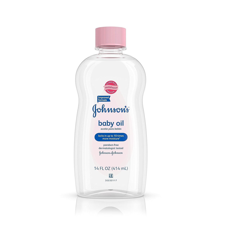Johnson's Baby Oil For Baby Massage, 14 fl. oz. Johnson' s K-HC-1034