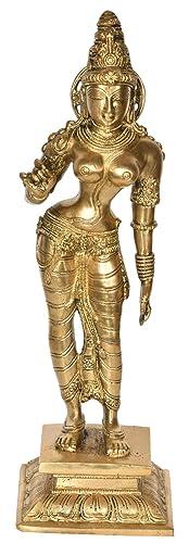 Standing Parvati – Brass Statue