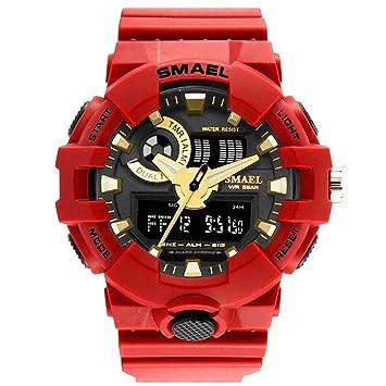 Blisfille Reloj de Oro Hombre Reloj Oficina Reloj 47Mm Reloj Hombre Usado Reloj Juvenil Chica