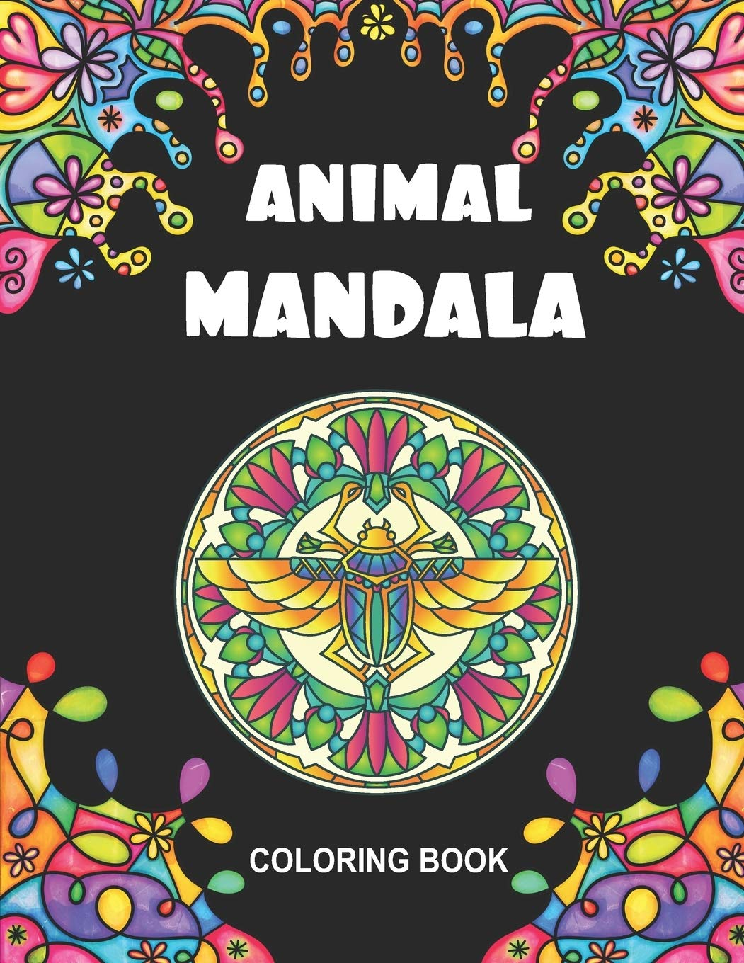 Amazon Com Animal Mandala Coloring Book 50 Zentangle Coloring Book For Kids And Adults Chicken Lion Lama Turtle And More For Stress Relief 9798695970258 Gaylord Roxanne Books
