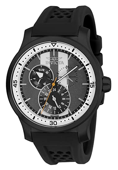 Invicta Reloj Análogo clásico para Hombre de Cuarzo con Correa en Silicona 27124: Amazon.es: Relojes
