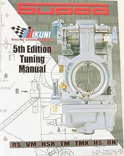 carb tuning handbook for mikuni roundslide and flatslide carbs rh amazon com