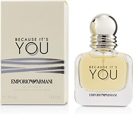 Giorgio Armani Because It's You Eau De Parfum 50ml Vapo