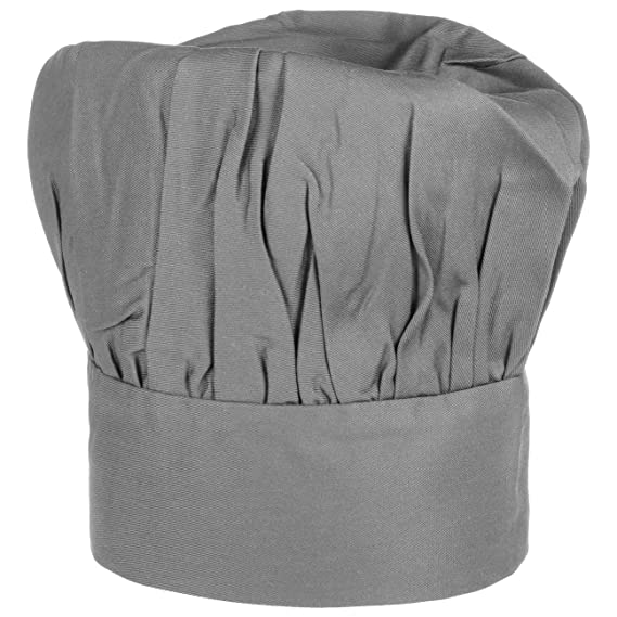 Bistro Cappello da Cuoco One Size - grigio  Amazon.it  Abbigliamento 440e8f45af4d