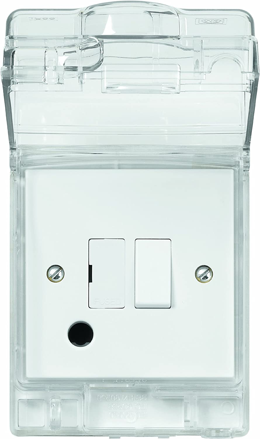 Weatherproof IP55 Rated 13A Outdoor Fused Connection Unit FCU
