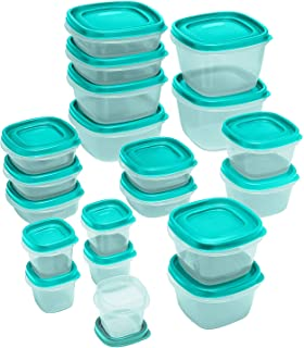 product image for Rubbermaid Food Strg Set 40pc Tl, 40-piece, Turquoise