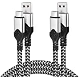 USB Type C Cable 10ft,2 Pack Durable USB C Charger Cable for Samsung Galaxy S10 Plus,Fast Charging USB C Braided Cable…