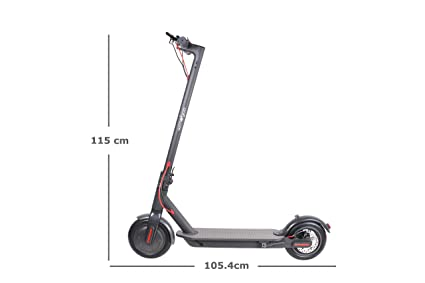 Wind Goo Patinete electrico - Scooter Negro: Amazon.es ...