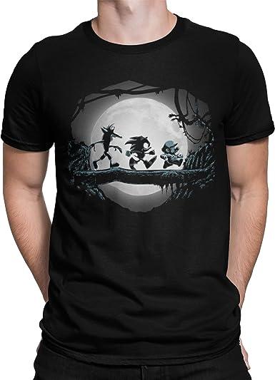 Camiseta original super marcio, sonic y crash