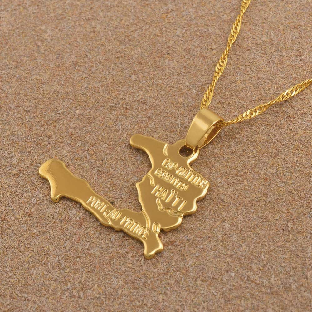 FB Jewels Solid 14K Yellow Gold Number 1 Aunt Pendant