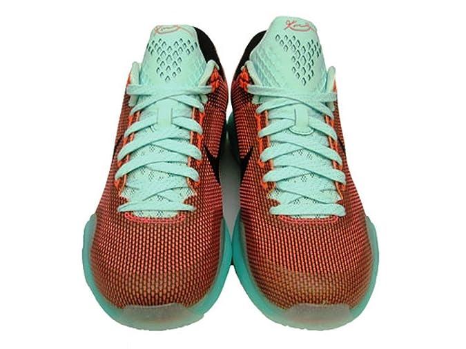 watch cb55b 97b81 Nike Kobe X GS (Easter Pack) Hot Lava Black-Sunset Glow - 4.5  Amazon.ca   Shoes   Handbags