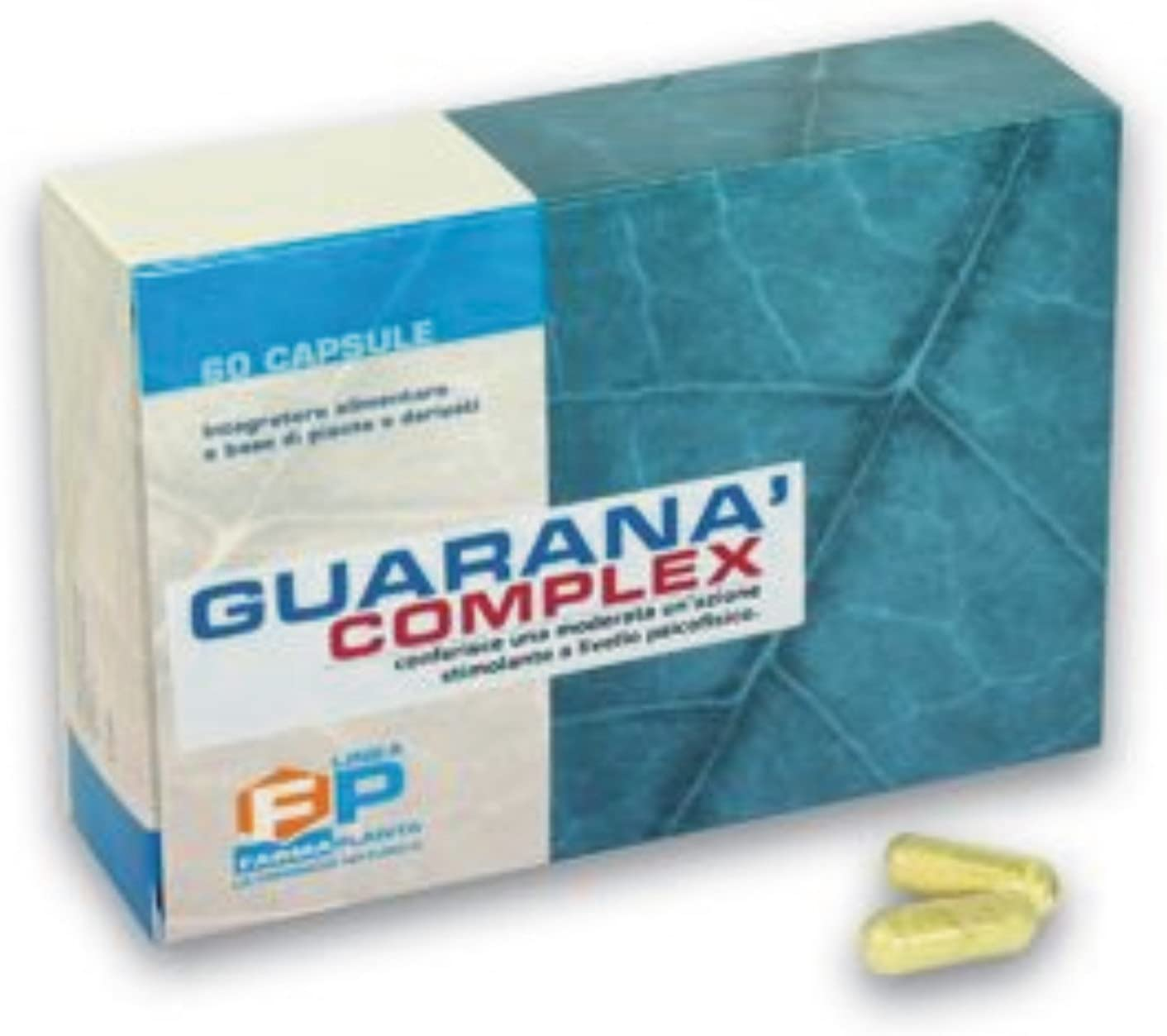 Guarana Complex stimulant energetic 60 CPS Catuaba Suma Muira Puama Ginseng