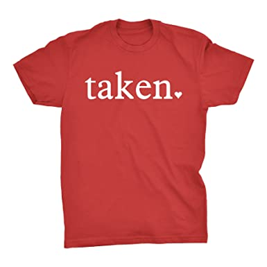 taken funny valentines day gift t shirt red