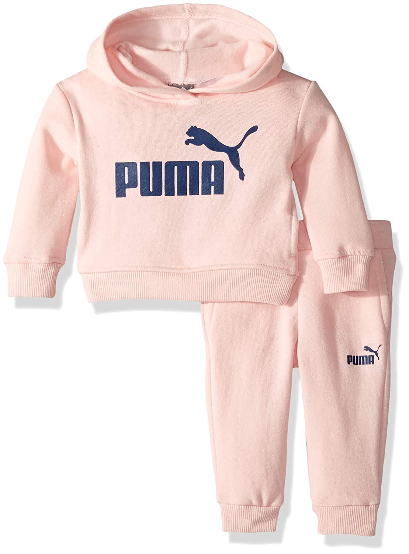 7ecf0f272d2cb PUMA Baby Girls' Fleece Hoodie Set