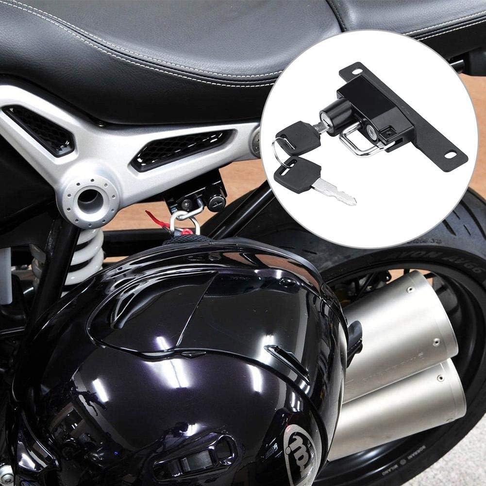 GUAIMI Serrure de casque de moto de s/écurit/é antivol pour BMW Rine T 2014-2017 R Nine T Scrambler 2014-2017