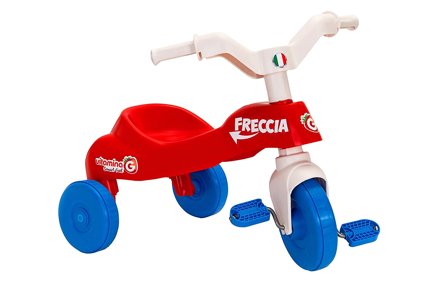 red /Tricycle in Plastic Vitamin G 05157/