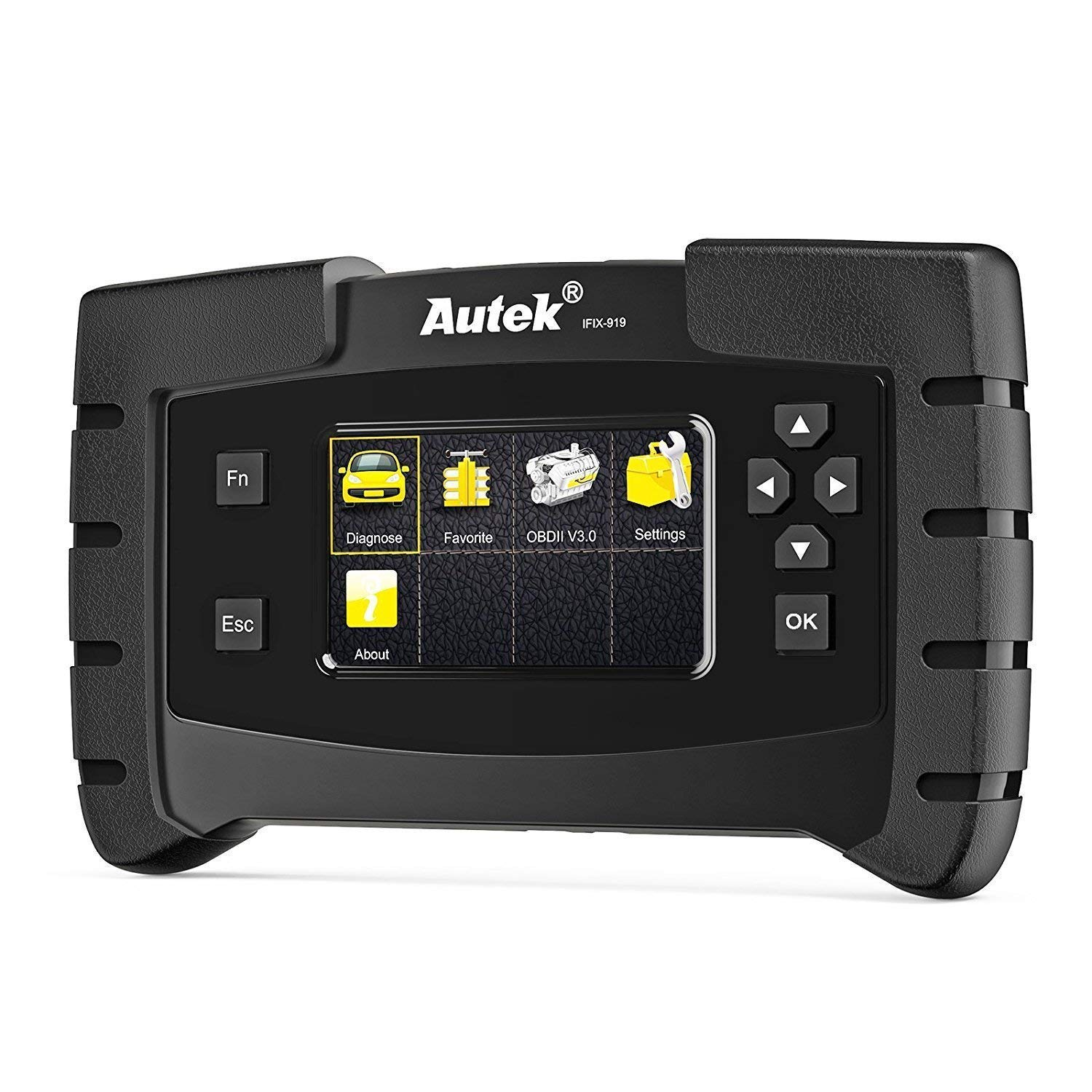 Autek Code Reader IFIX919 Automotive Car Code Reader Vehicles OBD2 Scanner Diagnostic Scan Tools Diesel with All System for ABS EPB SAS EPS TPMS Airbag Transmission Check Engine Oil Reset