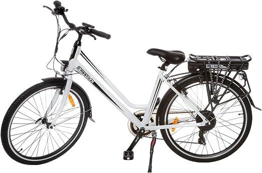 Bicicleta eléctrica E-mootika con pedaleo asistido modelo City con ...