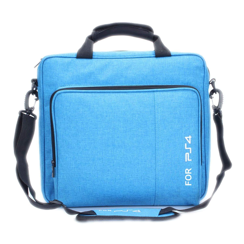 Handbag Multifunction Bag for PS4/PS4 Pro Slim Original Size Protect Shoulder Carry Bag Canvas Case for Playstation 4 Consol,for PS4-1