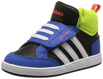 77f010eb47f15 Adidas neo - Hoops mid baby velvro - Chaussures mid mi montantes - Bleu  moyen -