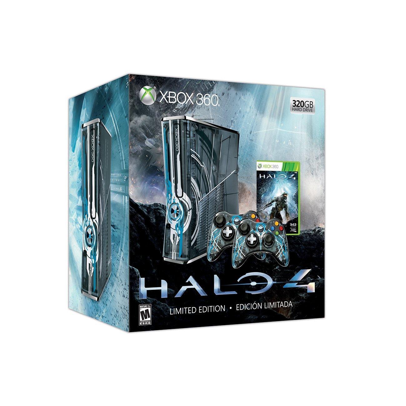 Halo 4 Xbox 360 320GB Console - Limited Edition (Xbox 360): Amazon ...