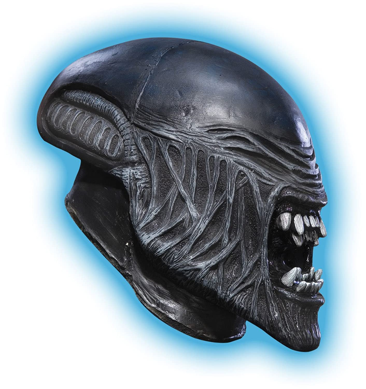 Amazon.com: Aliens Vs. Predator, Child's Alien 3/4 Vinyl Mask ...