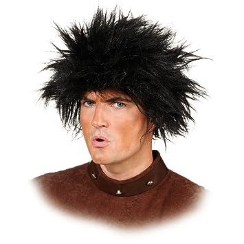 Neanderthal hombre primitivo de la peluca de la peluca para Hombre salvaje pelo artificial el hombre