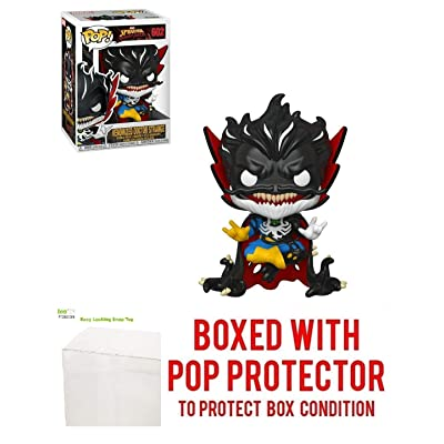 Venomized Doctor Strange Pop Marvel: Spider-Man Maximum Venom Vinyl Figure (Bundled with EcoTEK Plastic Protector to Protect Display Box): Toys & Games