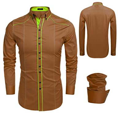f08bf27b578 Image Unavailable. Image not available for. Color  Men Dress Shirts