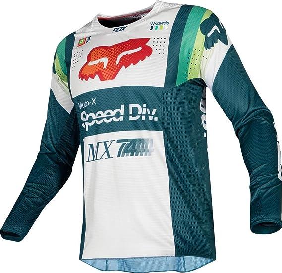 Fox Racing 360 Murc Mens MX Offroad Jersey Green
